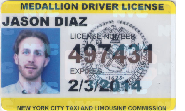 Jason Diaz, GetRide founder and licensed New York Cab Driver